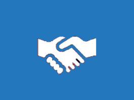 partenariat poignée de mains